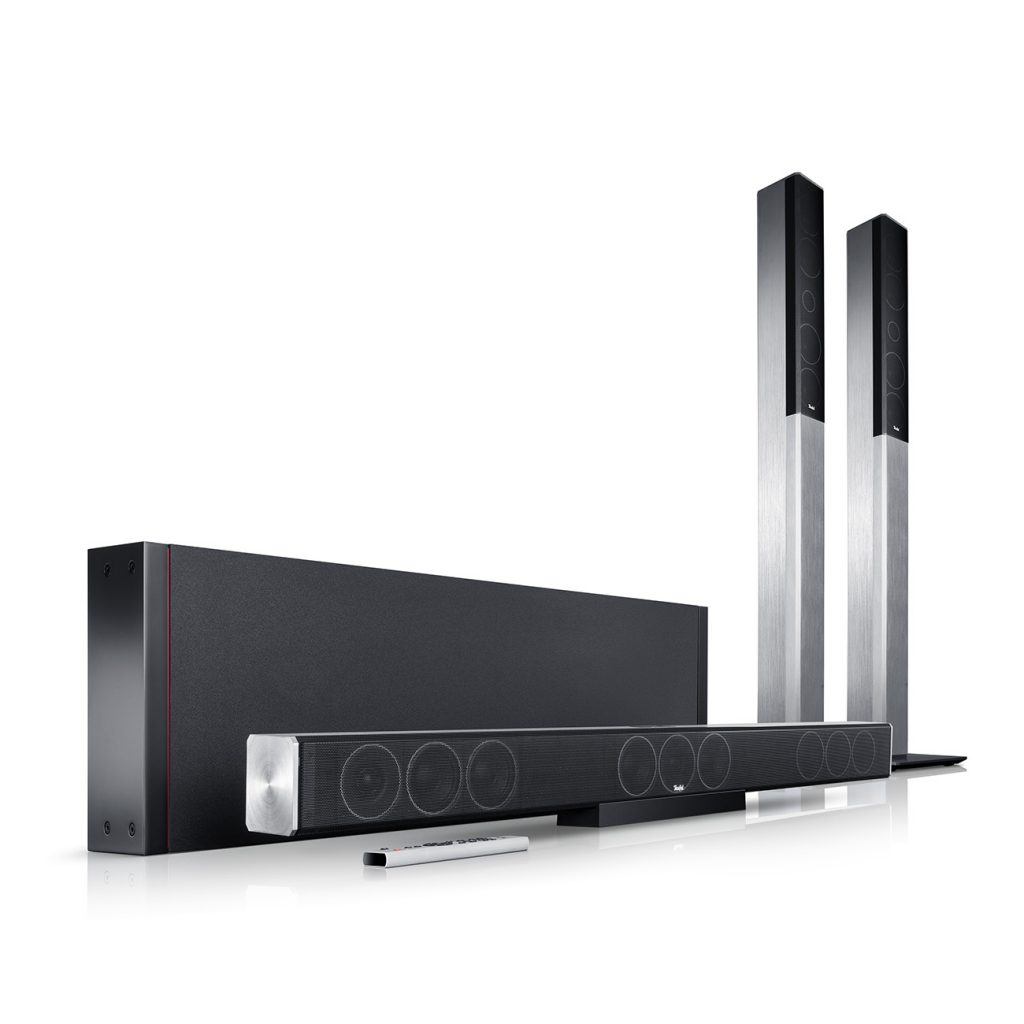 Cinebar Cinesystem Trios im 5.1 Set mit kabellosen Rear-Lautsprecher