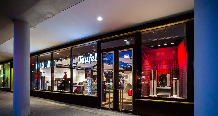 There's more to see in Bikini Berlin: The Teufel Flagship Store