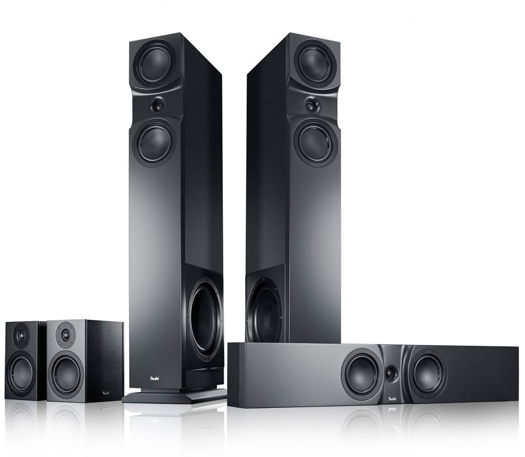 Teufel's Theater 6 Hybrid Surround with flat center