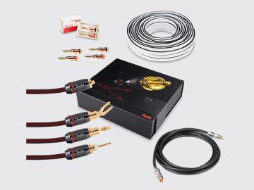 5.1 heimkino kabel set premium