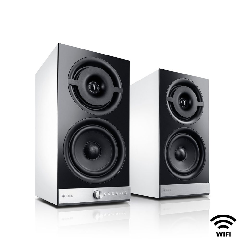 Stereo M Wi-Fi streaming speakers