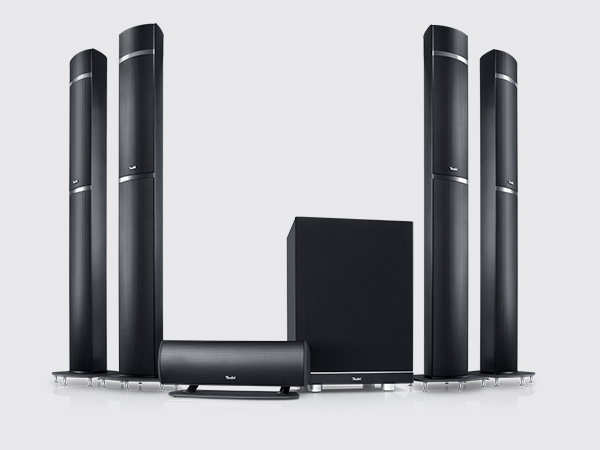 Teufel's LT 5 home cinema system with Dolby Atmos
