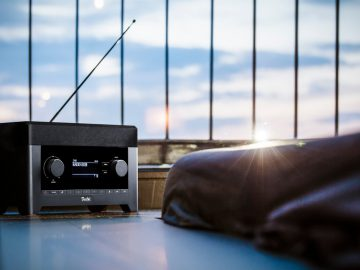 Radio 3sixty offers DAB+ digital radio as well as FM, Bluetooth and Spotify Connect.