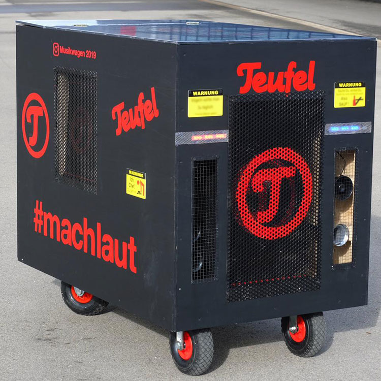 picture of the teufel festival wagon