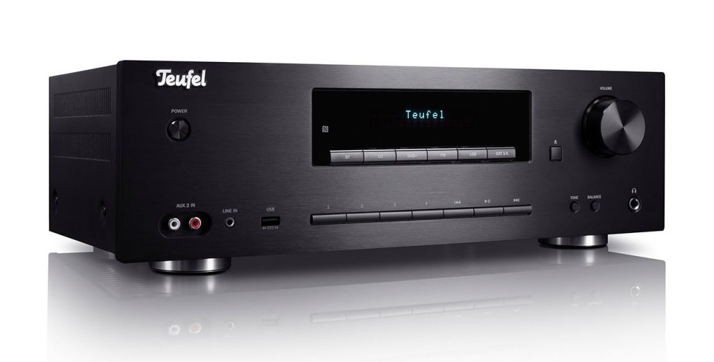 the Teufel Kombo 62 stereo receiver