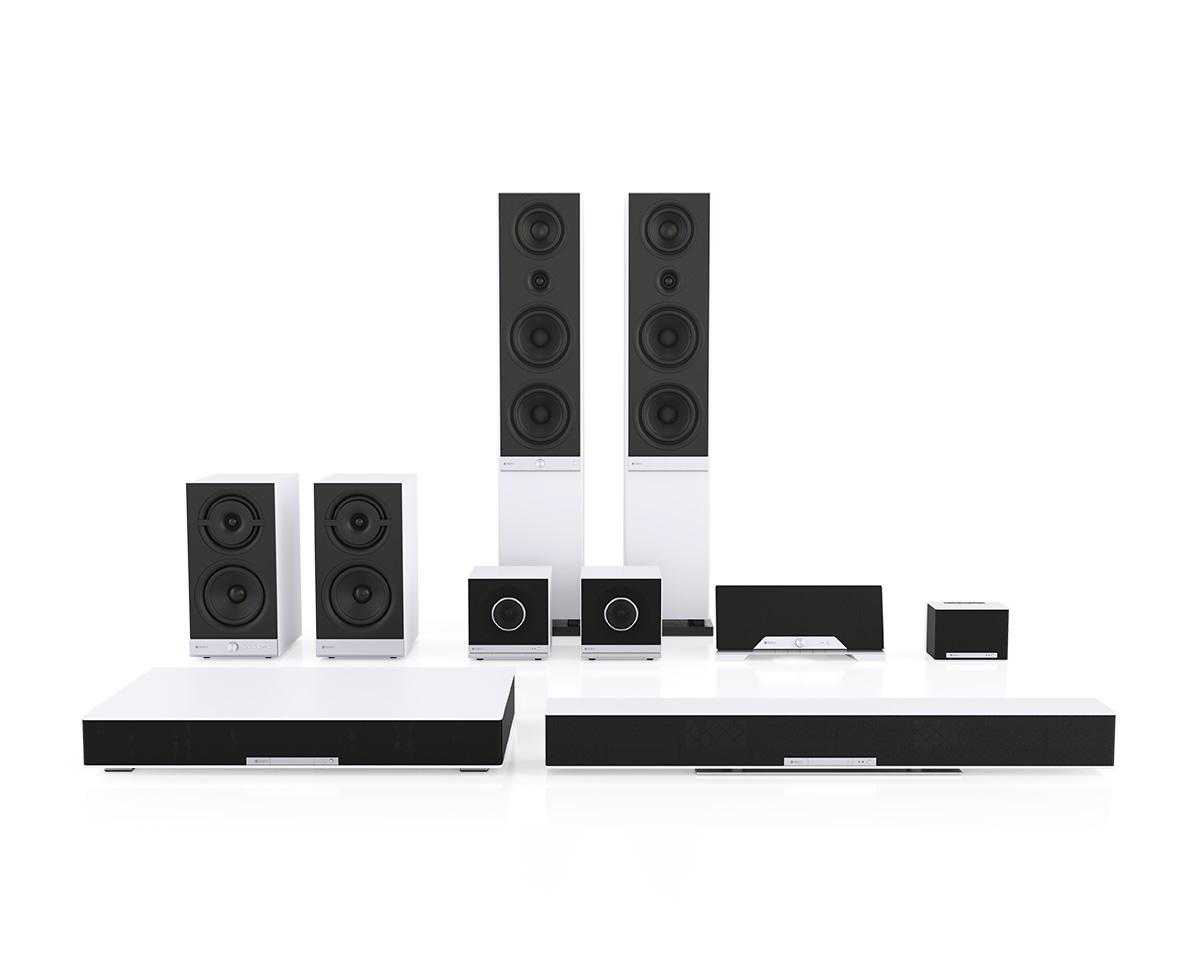 Raumfeld multi-room speakers