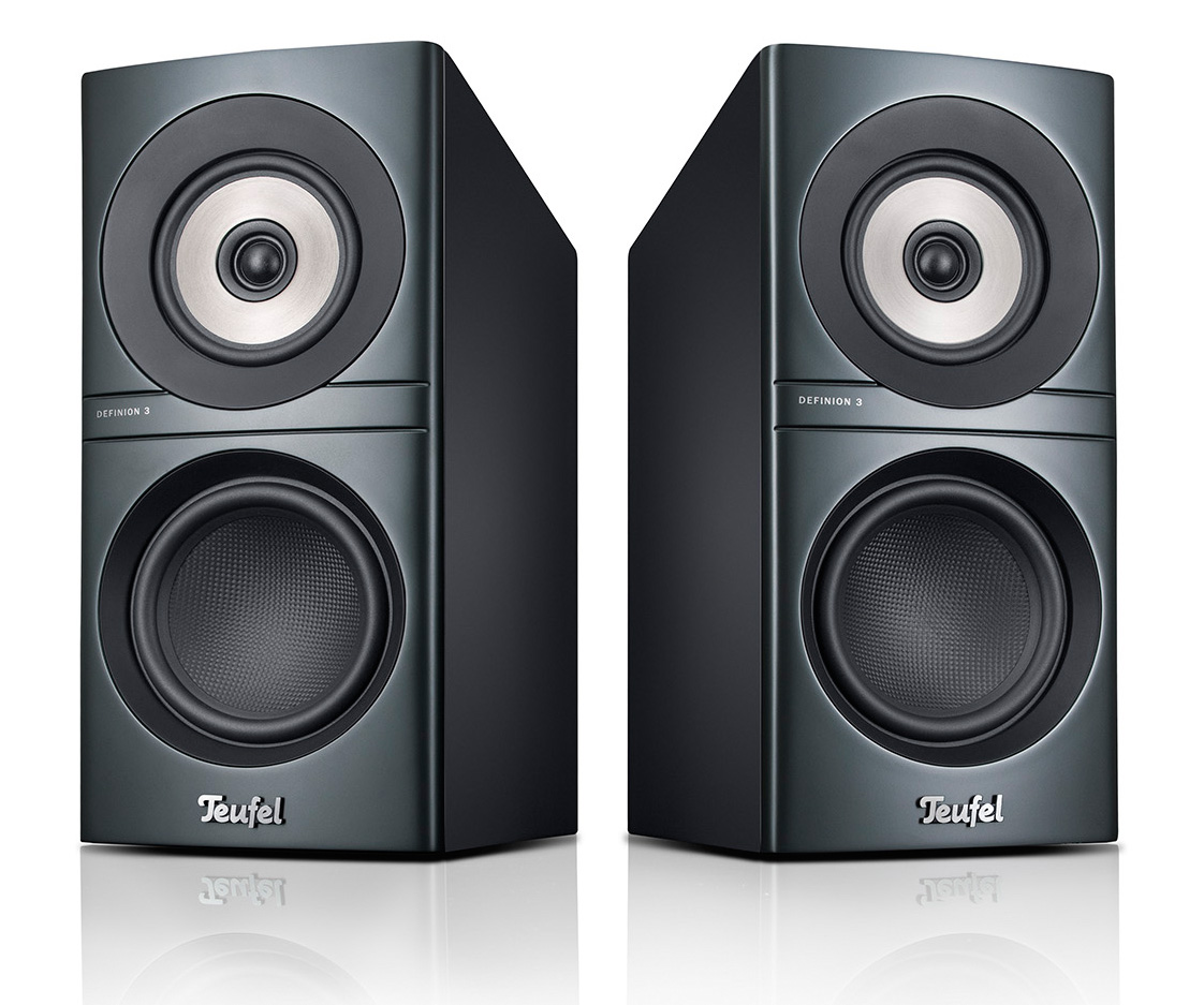 Definion 3S bookshelf speakers