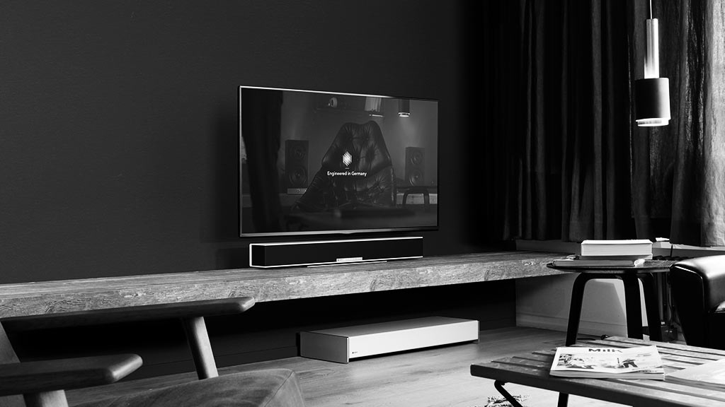 The Raumfeld soundbar