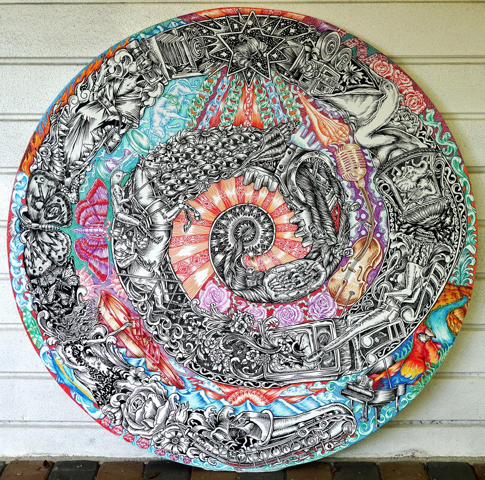 Circle + square by Marlon Pruz