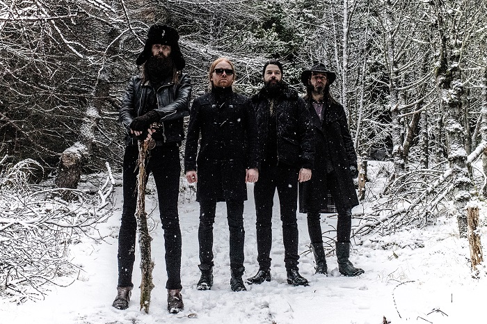 Members of the band Solstafir