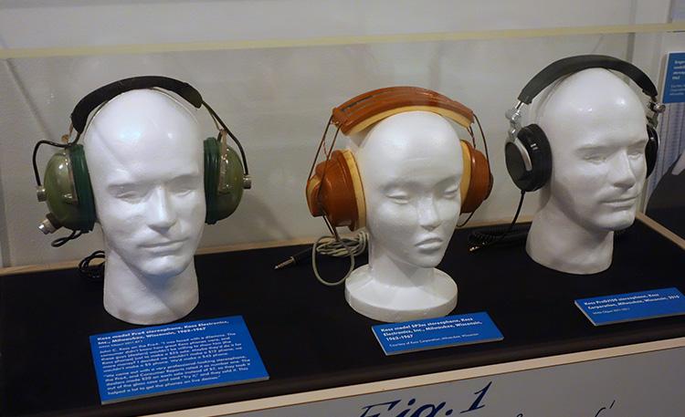 Koss stereo headphones