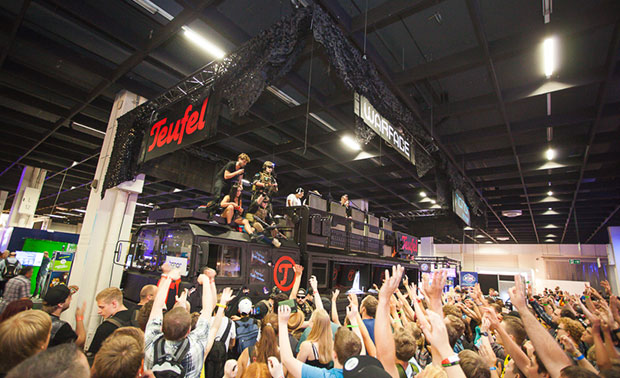 The Teufel Thundertruck at Gamescom